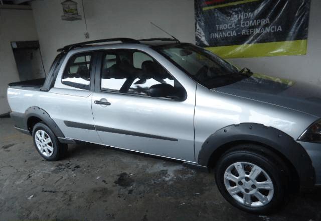 Fiat Strada Working 1.4 Cabine Dupla