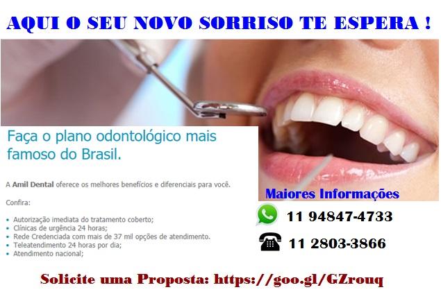 Plano Amil Dental Individual, Familiar, PME e Dental Kids Aqui o seu novo Sorriso te Espera