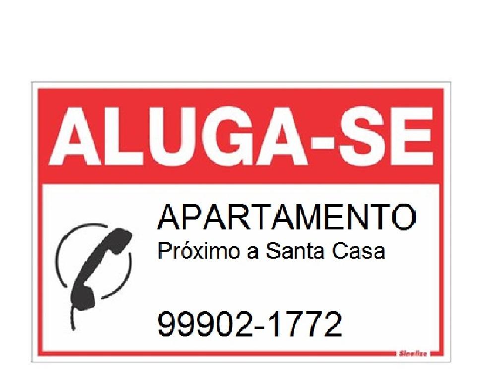 ALUGA-SE APARTAMENTO (Próximo a Santa Casa – 2 Quartos)