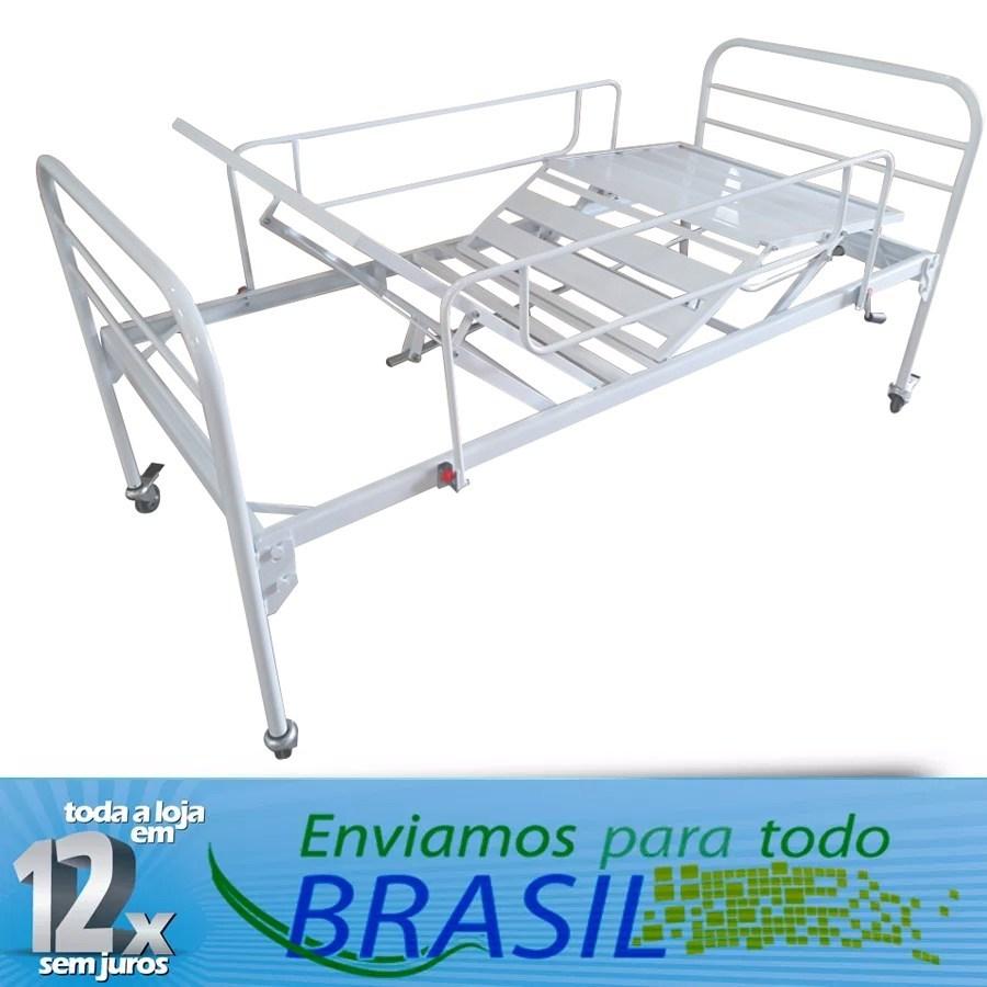Cama Hositalar  12x sem juros Entrega Todo Brasil